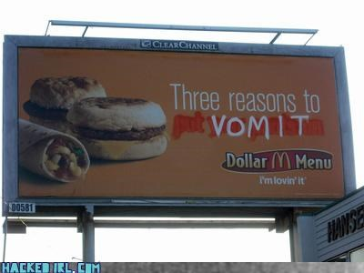 billboard,food