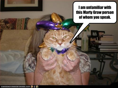 cat jester Mardi Gras - 3171301376