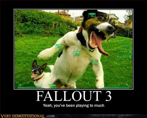 fallout attack video games dogs