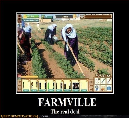 constant updates,Farmville,gods work,hilarious,peasant labor,the real deal,who cares