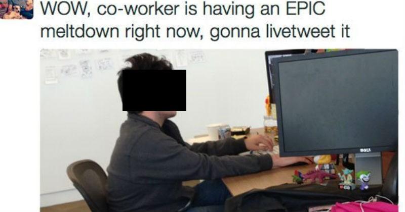coworkers Meltdown live tweet - 3175429