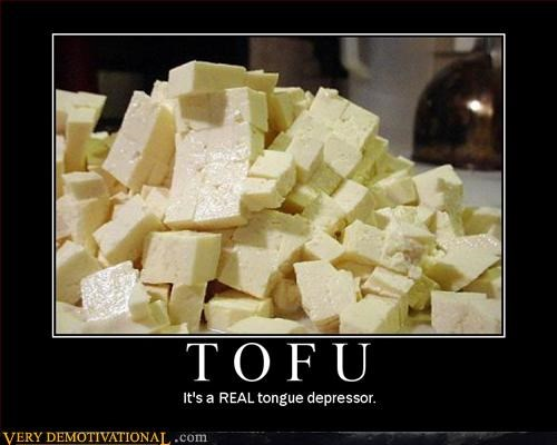 pun,tofu,tongue depressor