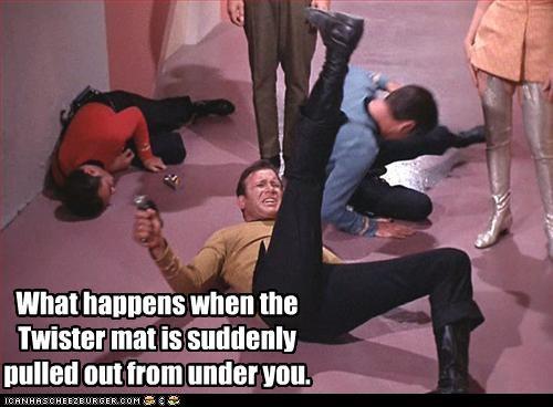 sci fi Shatnerday Star Trek TV twister William Shatner - 3176284416