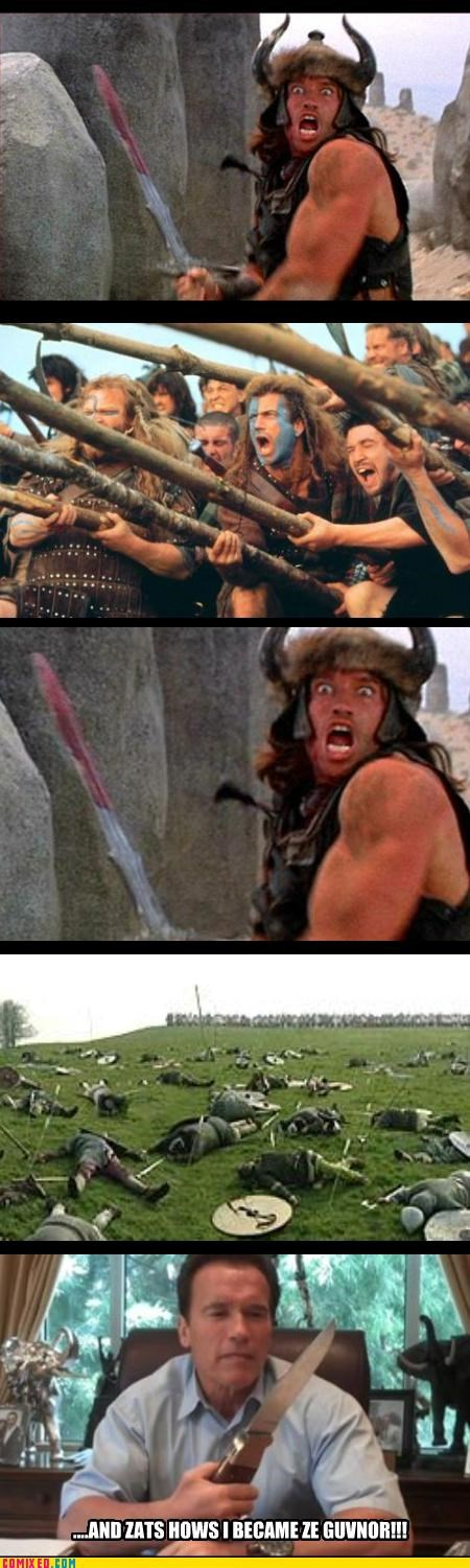 conan,From the Movies,is,Way Better Than Braveheart