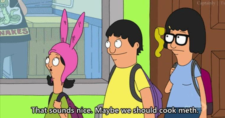 Collection of funny bob's burgers memes and moments in celebration of international burger day.