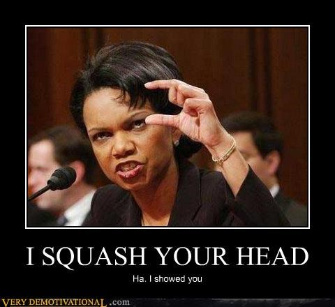kids in the hall squash your head Condoleezza Rice - 3179312384