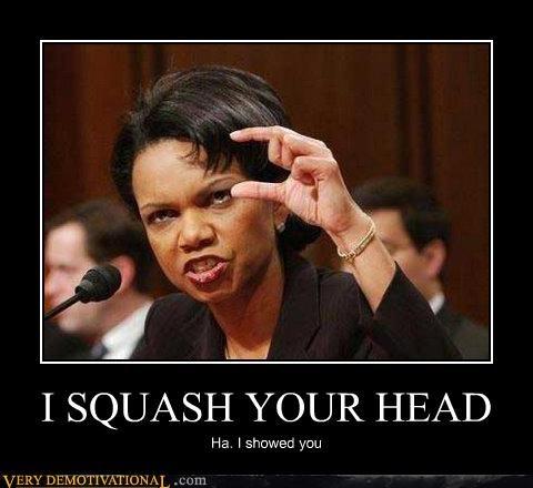 kids in the hall squash your head Condoleezza Rice - 3179312384