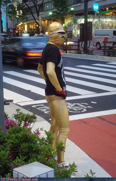 big in Japan,body suits,gold,my nightmares come to life