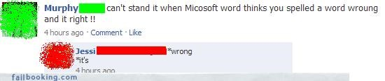 MS Word,The Spelling Wizard