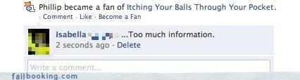 balls,fans of,TMI