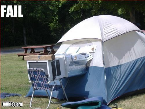Camping Fails Images