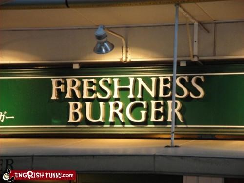 burgers fresh g rated restaurant signs - 3182545664
