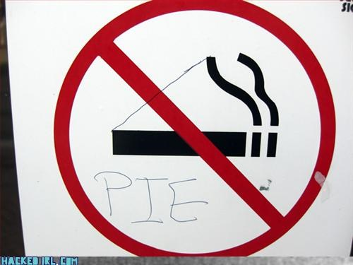 gladOS,no smoking,pie
