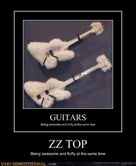 guitar wtf zz top Fluffy - 3184610816