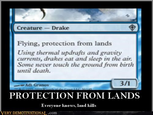land magic the gathering Drake - 3185294336