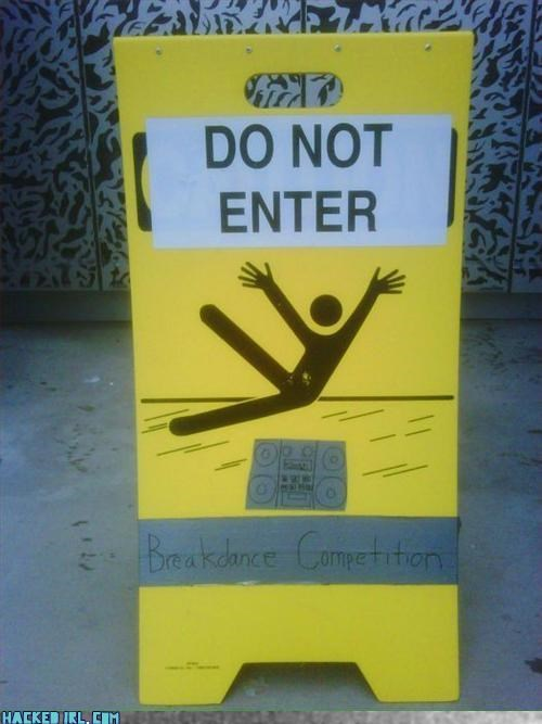 caution dancing stickman - 3185468672