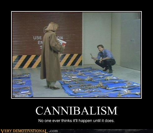 x files cannibals Mulder - 3186379008