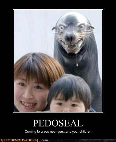 Chris Hansen hilarious one-seal-i-wouldnt-mind-clubbing pedoseal Terrifying - 3186478848
