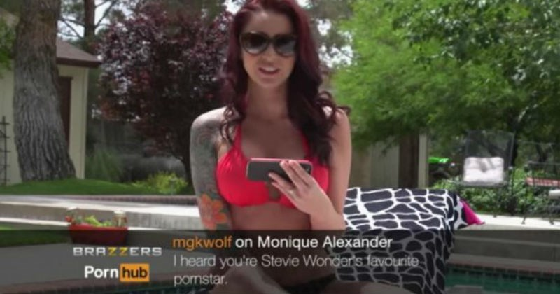 Adult film stars read brutal comments about themselves on camera.
