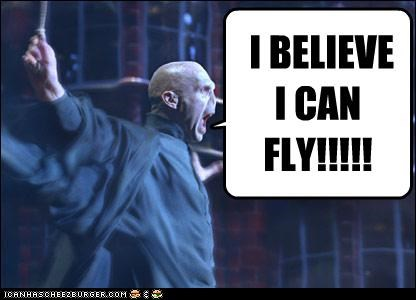 I BELIEVE I CAN FLY!!!!!