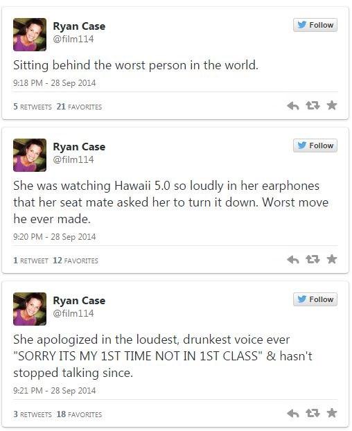 twitter woo girls drunk facepalm Travel airplane - 319237