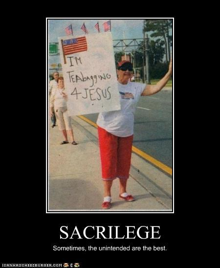 demotivational,funny,lady,lolz,Protest,wtf