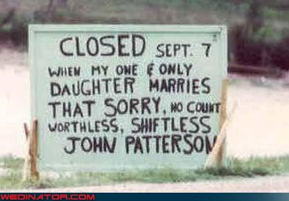 church sign FAIL,DIY,ghetto,psa,Wedding Announcement,white trash wedding,wtf