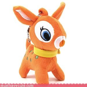 cute deer Keychain Plushie toy - 3194610944