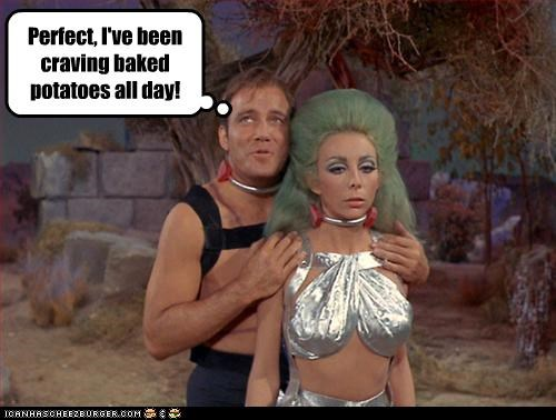 bewbs sci fi Star Trek TV William Shatner - 3194857984