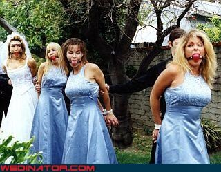ball gag bdsm bridesmaids Crazy Brides fashion is my passion groom periwinkle sm technical difficulties wedding party Wedding Themes wtf - 3194999552