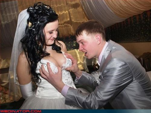 boobs bride copping a feel eww fashion is my passion groom hopefully not her brother rack surprise were-in-love wtf