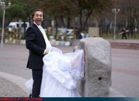 confusing Crazy Brides decorative boulder eww fashion is my passion groom miscellaneous-oops she-man technical difficulties were-in-love wedding pictures wtf WTF-ery - 3195005440