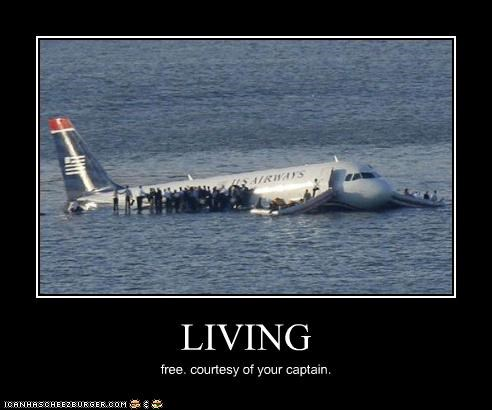 LIVING free. courtesy of your captain.