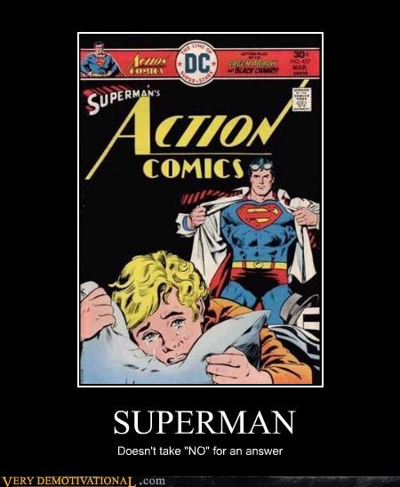 comics demotivational hilarious rape superman Terrifying Think Of The Children - 3196125952
