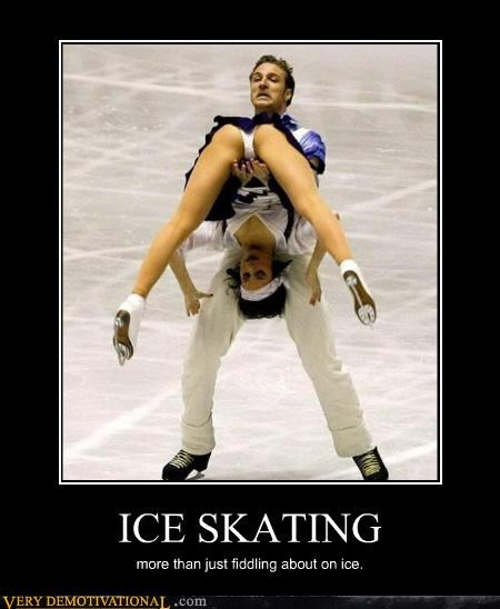 fiddling about figure skating hilarious ice skating sex sports - 3196722432