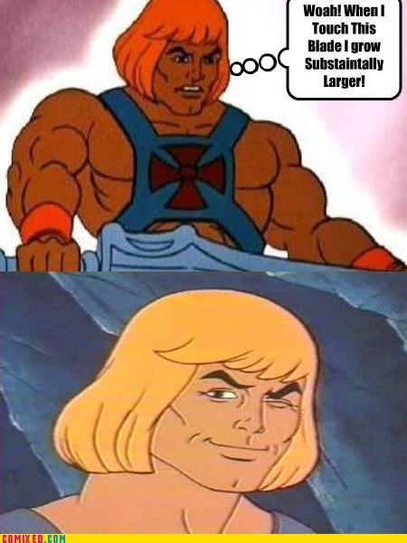 cartoons gay jokes Greyskull he man - 3197630208