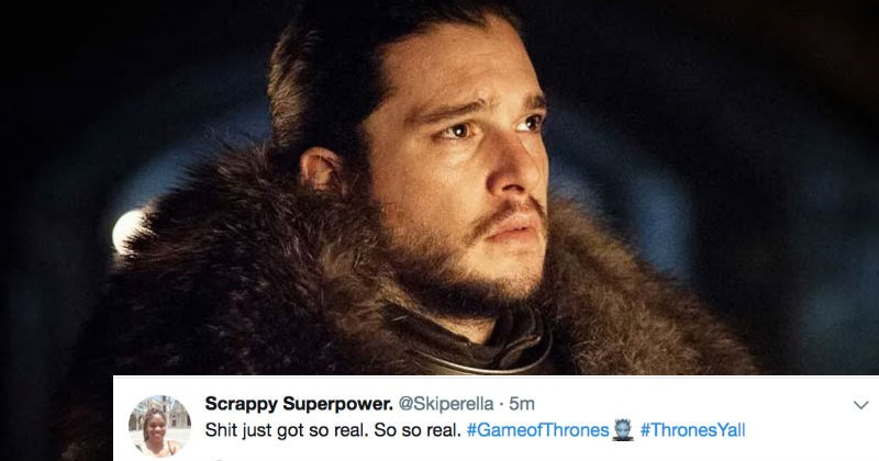 crazy twitter Game of Thrones George RR Martin TV reaction funny television - 3199237