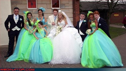 Bling,bride,bridesmaids,Crazy Brides,fashion is my passion,groom,hi-liter,poofy,star,tacky,Troll Doll,wedding party,Wedding Themes