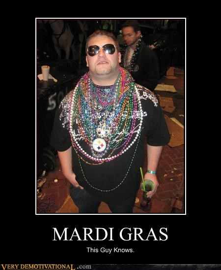 MARDI GRAS This Guy Knows.
