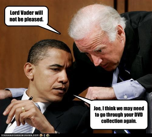barack obama joe biden movies star wars stupidity - 3201189120