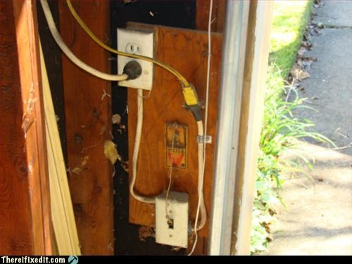 light switch,Mission Improbable,mouse trap,stay out