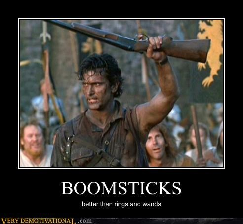 BOOMSTICKS better than rings and wands