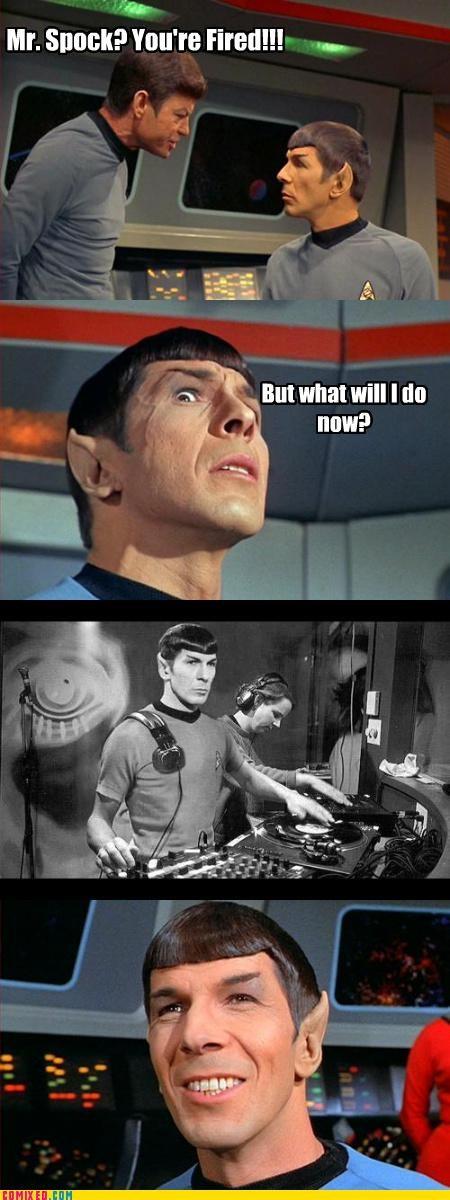 djing lifestyle Spock Star Trek - 3204638720