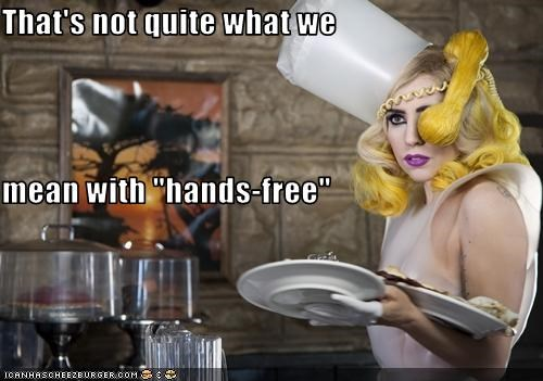 That S Not Quite What We Mean With Hands Free Cheezburger Funny Memes Funny Pictures