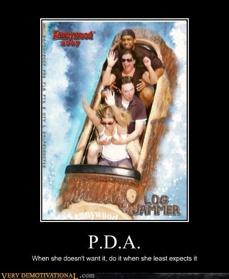 demotivational,hilarious,log jamming,love,PDA,rides,touching