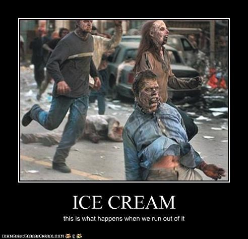 ice cream,movies,zombie