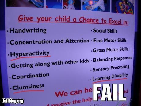 child clumsy disability g rated help learning signs