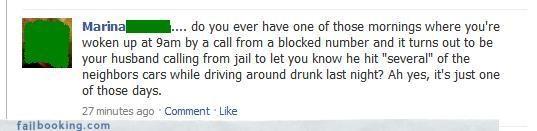 bad days drama driving drunk jail calls yikes - 3210363136