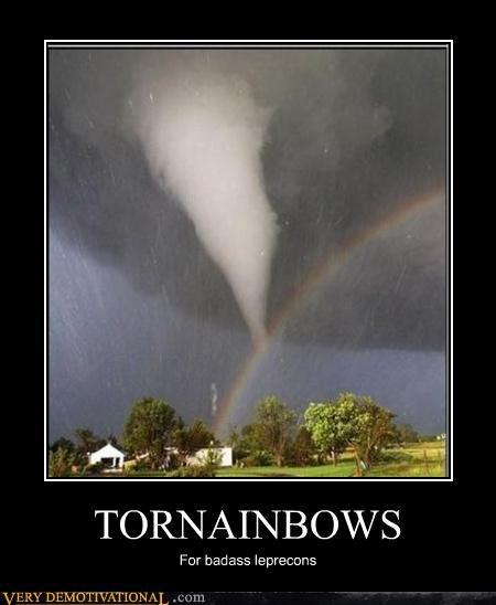 tornado leprechauns angry rainbow - 3211064832