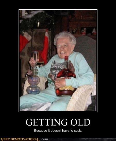 booze,old age,drug stuff